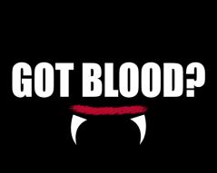 GOT BLOOD TO PRINT